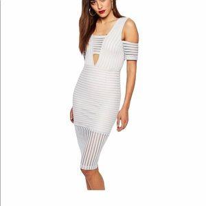Missguided Cols Shoulder Dress